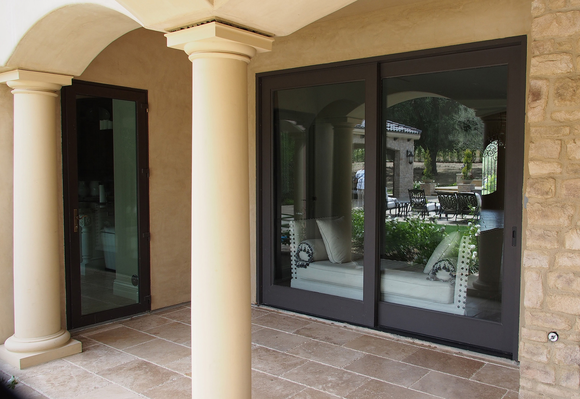 Sliding Glass Doors and Handles